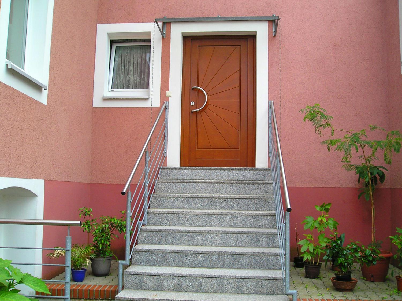 Herstellen einer Eingangstreppe