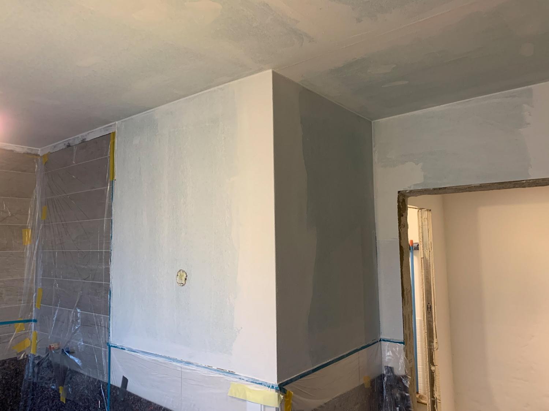Umbauarbeiten für Bad im Kellergeschoss