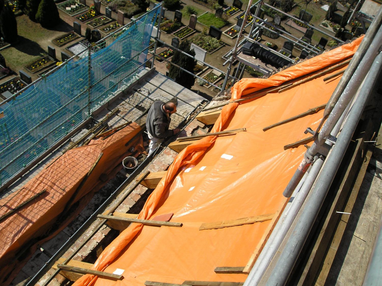 Sanierung Kirchendach