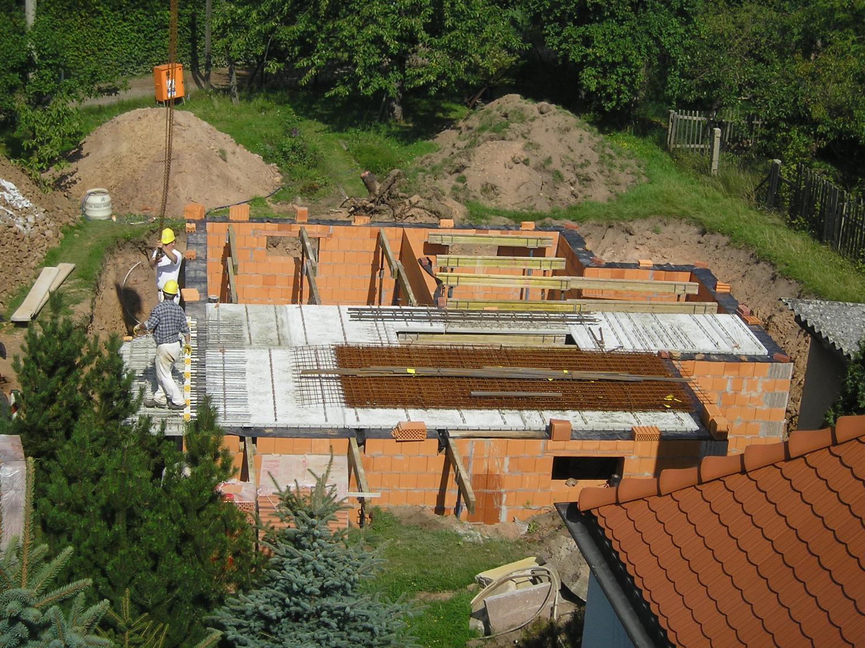 Keller für Fertigteilhaus