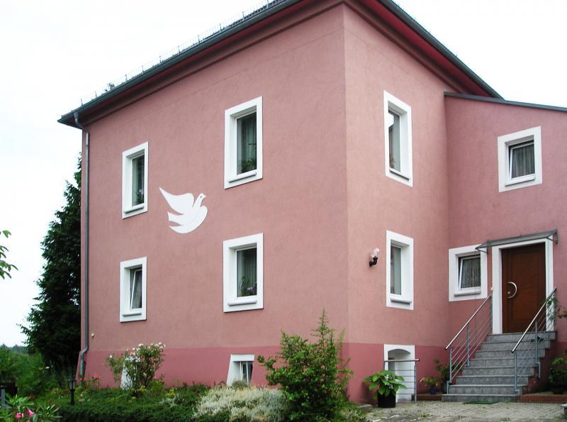 Außenputz Mehrfamilienhaus